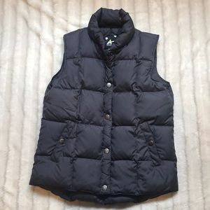 Athletech gray down vest, size small.